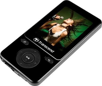 Transcend TS8GMP710K 8GB MP4 Player (Black, 2 inch Display)
