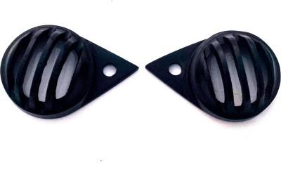 HMRA Power Matte Black Pilot/Parking Light Cover Bike headlight Grill(Black)  available at flipkart for Rs.120