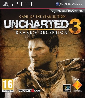 Uncharted 3: Drake's Deception (Game Of The Year Edition)(for PS3)  available at flipkart for Rs.829
