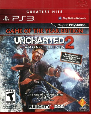 Uncharted 2: Among Thieves (Game of the Year Edition)(for PS3)  available at flipkart for Rs.949