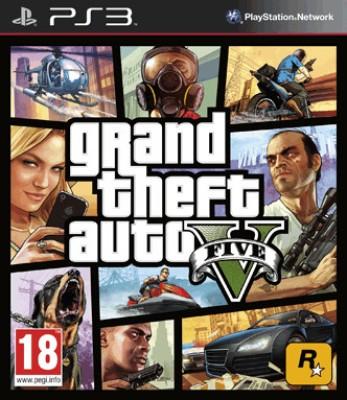 Grand Theft Auto V(for PS3) at flipkart