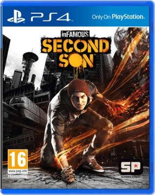 Infamous: Second Son(for PS4)  available at flipkart for Rs.1275