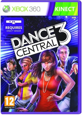 Dance Central 3 (Kinect Required)(for Xbox 360)  available at flipkart for Rs.1399