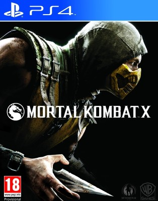 Mortal Kombat X(for PS4) at flipkart