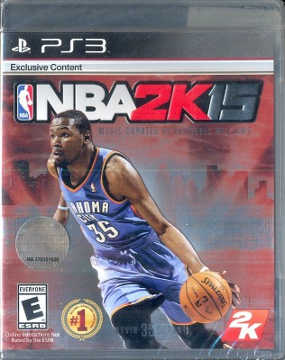 NBA 2k15(for PS3) at flipkart