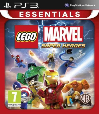 Lego Marvel Super Heroes(for PS3)  available at flipkart for Rs.1299