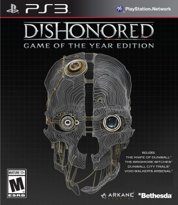 Dishonored (Game Of The Year Edition)(for PS3)  available at flipkart for Rs.950