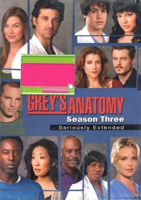Grey's Anatomy Season - 3 3(DVD English)