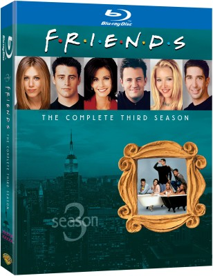 Friends Season - 3 3(Blu-ray English)