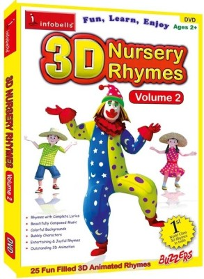 Infobells Nursery Rhymes Vol 2 Dvd English