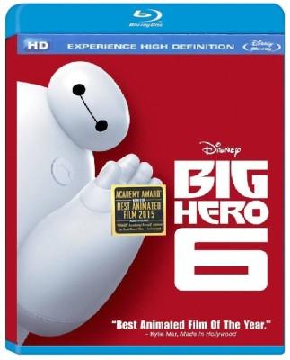 Big Hero 6 Blu ray English Blu ray