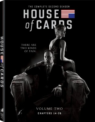 House of Cards - 2 (Volume - 2 : Chapters 14 - 26) 2(Blu-ray English)