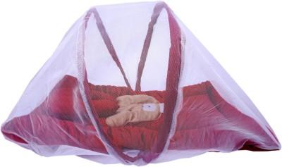Surhome SOLID SET Baby Carry Bed BUNK(VELVET, Maroon) at flipkart