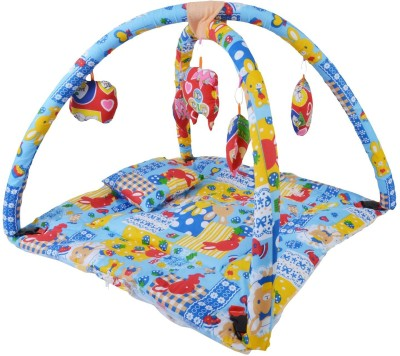Chhote Janab BABY PLAY GYM WITH MOSQUITO NET(Blue)