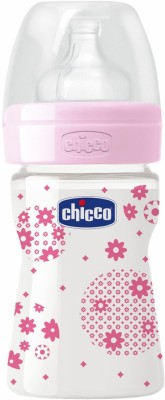 Chicco Wellbeing PP Bottle - 150 ml(Pink)