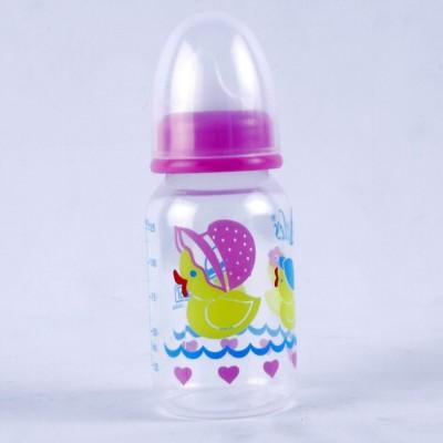 Littles Classic Mini Pink Feeding Bottle - 125 ml(Pink)