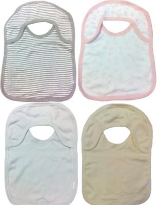 Sonpra Organic Soft Cotton Two Ply Baby Bibs(Royal)