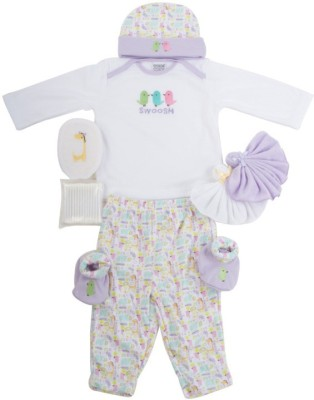 Meemee Pampering Present For New Borns Combo Set(Set of 8)