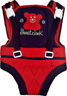 Love Baby Carrier with Strong Belt Baby Carrier(Red, Front Carry facing in) at flipkart