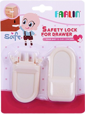 Farlin Safety Lock For Drawer(White)  available at flipkart for Rs.170