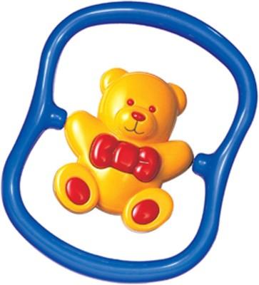 Tolo Teddy Bear Rattle(Yellow)