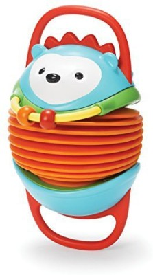 Skip Hop Explore and More Accordion Toy, Hedgehog Rattle(Multicolor)