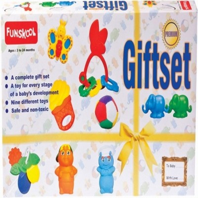 Funskool Gift Set Premium Refresh Rattle(Multicolor)