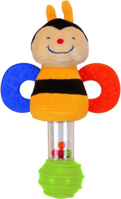 K's Kids Stick Rattle - Clever Bee Rattle(Multicolor)