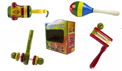 CeeJay RA-OW002 Rattle(Red, Yellow, Green)