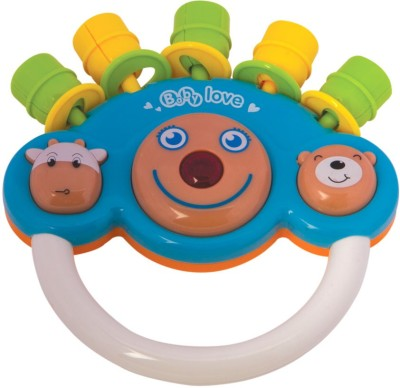 Meemee Cheerful Rattle_MM-3909_Blue Rattle(Blue)
