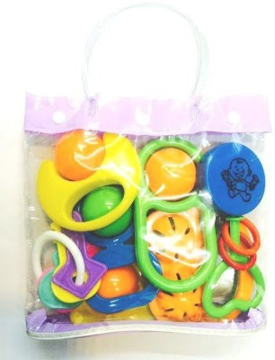 Instabuyz Infants Rattle Jhunjhuna New Born Toys Set Of 4 Pc. Rattle Rattle(Multicolor)