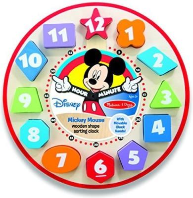 MELISSA   DOUG Mickey Mouse Rattle Multicolor MELISSA   DOUG Baby Rattles