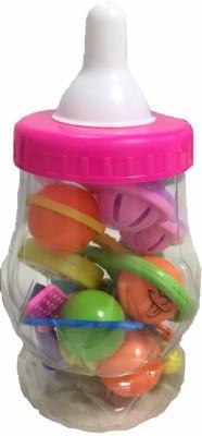 Instabuyz Infants Rattle Jhunjhuna New Born Toys Set Of 7 Pec . Rattle(Multicolor)