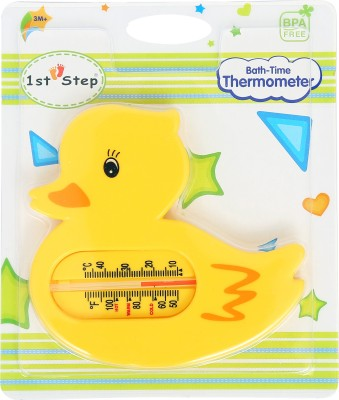1st Step Bath Time Thermometer Bath Thermometer(Yellow)
