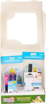 JAYEM Infant Essential Gift Set Bath Thermometer