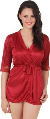 12% OFF on Fasense Exclusive Women Satin Nightwear Sleepwear ... 866d92f4b