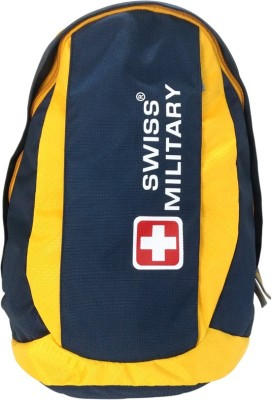 Swiss Military Polyester 31 L Backpack Yellow Swiss Military Backpacks