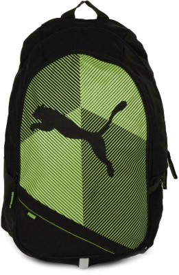 Puma Echo Plus 15 L Backpack(Green, Black)
