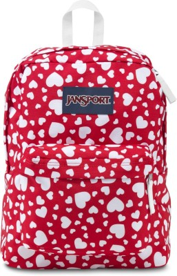 JanSport Red Heart to resist 25 L Backpack(Red)