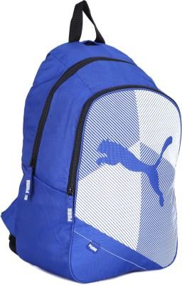 6d18bab4cb3f 49% OFF on Puma Backpack(Blue) on Flipkart