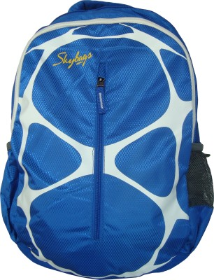 Skybags POGO 02 BLUE 22 L Backpack(Blue)