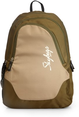 Skybags Groove 3 Backpack(Green)