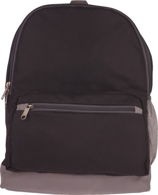 Bags R Us BP108FBL 18 L Medium Backpack Black Bags R Us Backpacks