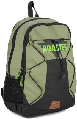 The Vertical TRIPPER 25 L Laptop Backpack Green
