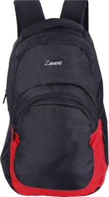 Zwart STUB 25 L Laptop Backpack(Black, Red)