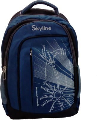 Skyline 058 21 L Laptop Backpack(Blue)