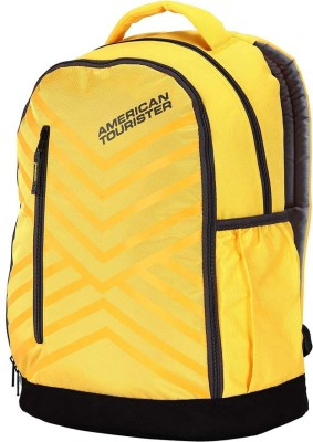 American Tourister AMT 2016 - Ebony Backpack(Yellow)