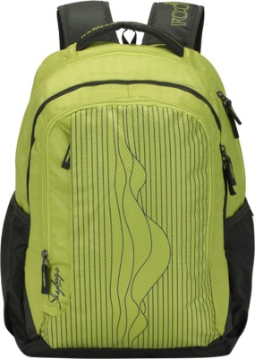 Skybags Footlose Helix 01 Green 26 L Backpack(Multicolor)