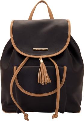 LAPIS-O- LUPO Black Smoke 12 L Backpack(Black) at flipkart