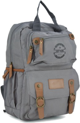 The Vertical PANACHE 18 L Laptop Backpack Grey The Vertical Backpacks